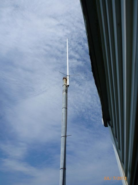 Our old temp. antenna